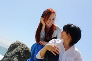 Ariel and Eric: Your Smiling Face by SoaringVisions