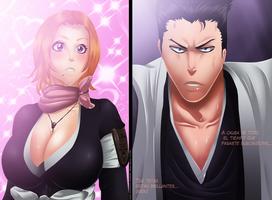Bleach 529 - Matsumoto And Ishin by HikariNoGiri