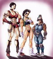 Muscle Sandwich by Dracowhip