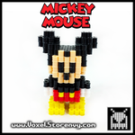 Mickey_Mouse by VoxelPerlers