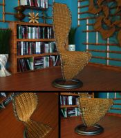 Free Wicker Cappellini Chair by LuxXeon