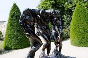 Les Trois Ombres - Rodin by Frog-studios