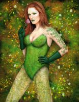 Julianne Moore as Poison Ivy by thesadpencil