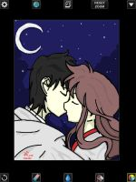 Kiss In The Moon by Animefangirl68