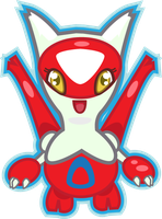 Latias by PiNkOpHiLiC