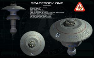 Spacedock One ortho by unusualsuspex