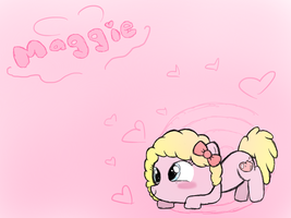 Maggie As Pony by gALECsy