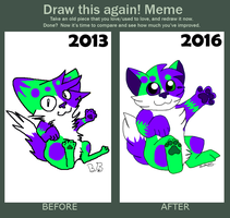 Before and After .:Meme:. by TheRealAussieKitten