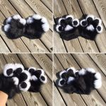 White and Black Handpaws with PawPads for rachlarh by DressedAllInFurWorks