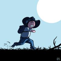 Run Carl Run by daerave