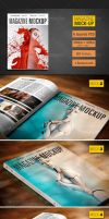 Magazine Mockup preview.. by mixmedia87