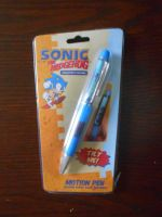 Sonic Motion Pen by BoomSonic514