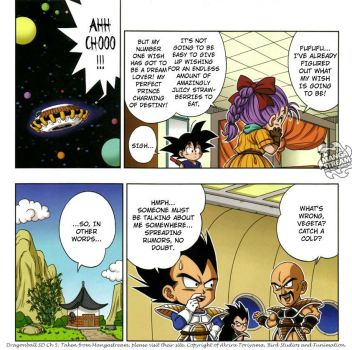 Dragonball SD BV moment by Mz-D
