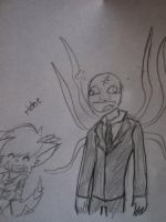 the new slenderman by Altairdelhand