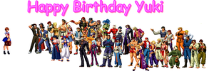 Happy Birthday Yuki by s0ph14luvukn0w