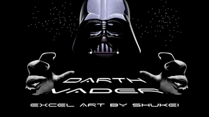 MS Excel: Darth Vader by shukei20