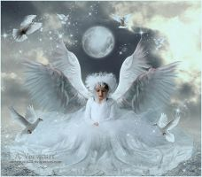 The child angel by annemaria48