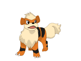 Growlithe by Mendaleave