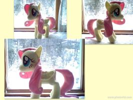 Fluttershy Plushie by January3rd