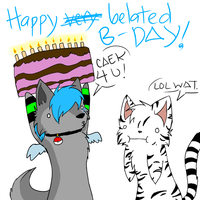 Happy -late- Birthday Icy by sodapoq