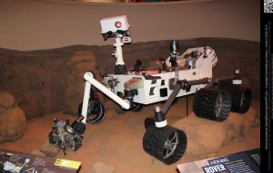 Mars Rover by DamselStock