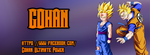 Gohan fb page cover by AnimeDesignerPT