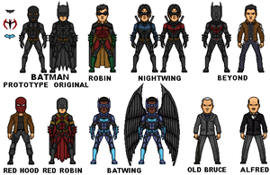 Bat-family Nolanised by MicroTraceour