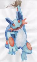 Swampert used Mud Slap by suicunedragon