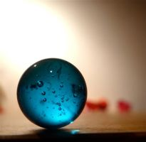 a blue marble by Sofery