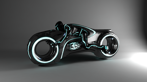Tron legacy light cycle by MCP935