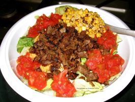 Carne Asada Ensalada. by GermanCityGirl