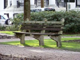 Park Benches : 02 by taeliac-stock