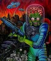 Mars Attacks by JosefVonDoom
