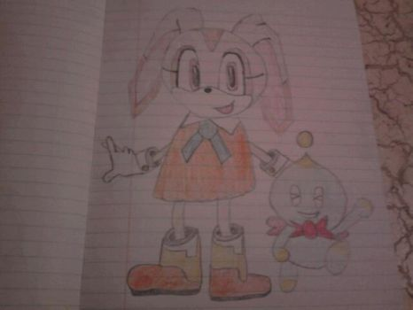 Cream from Sonic the Hedgehog by SquirrelJoeArmstrong