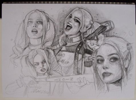 Suicide Squad by MaryRiotJane
