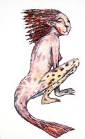 Redtailed Lepardo by CliveBarker