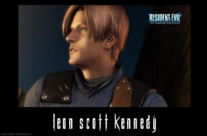 Leon S. Kennedy ScreenShot by Claire-Wesker1