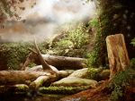 Fantasy Background four by Pickyme