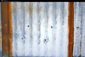 SS-0110 Rusty Metal Wall by Stocking-Stuffer