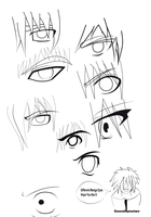 Different Manga Eyes by GaaraJapanime