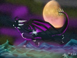 Tahara.:Power of the Moon:.AT by TheDragonCat