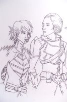 Fenris and the Prince by Grim-Heaper
