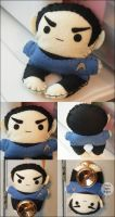 Plush Spock by hellohappycrafts