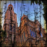 Architecture on Burnt Wood 3 by AngelEowyn