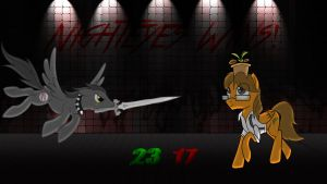Pony Kombat New Blood 3 Round 3, Battle 3 Result by Macgrubor