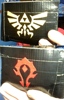 Hylian Crest, Horde Wallet by dbgtrgr