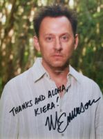 Autographed Michael Emerson by K-i-e-r-a