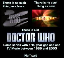 Doctor Who is Doctor Who by DoctorWhoOne