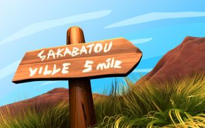Sakabatou Ville by OrcunA
