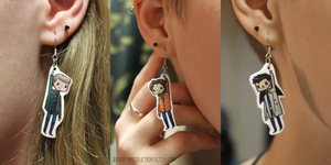 Supernatural Build-Your-Own Earrings. by IdentityPolution